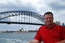 Sydney Harbour Bridge, and Opera House.