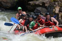 Rafting the Tulley River