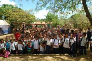 Celebrating the start of a new school in Nicaragua